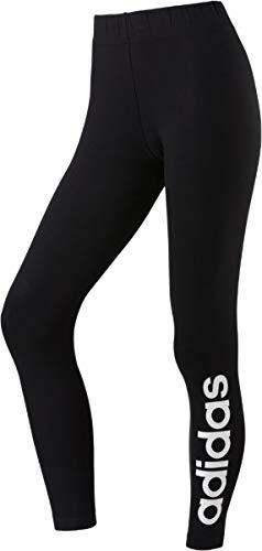 Adidas dp2386, leggins donna, nero/bianco, s 40-42