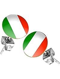 Taffstyle Fanartikel Ohrringe für Fußball WM & EM - verschiedene Farben