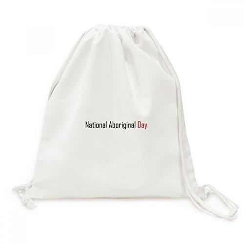 DIYthinker Kanada National Aborginal Tag Segen Leinwand Rucksack Reisen Shopping Bags -