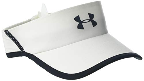 Under Armour Herren Men's Shadow Visor 4.0 Kappe, Weiß, OSFA Mesh-stretch-hut