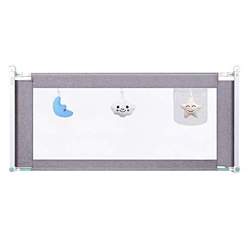 ACZZ Bettgitter Stabiler und tragbarer Bettschutz Einfach zu installieren Einfach zu montieren Einfach zu heben und zu senken,A,180cm
