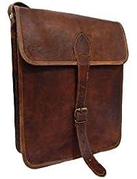 Pranjals House 11 Inch Genuine Leather Sling Messenger Bag