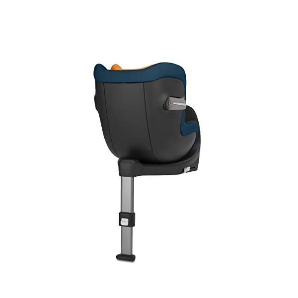 CYBEX Gold Sirona S i-Size Car Seat with 360° Swivel Mechanism and ISOFIX, From Birth to approx. 4 Years, Up to Max. 105 cm Height, Indigo Blue Cybex  2
