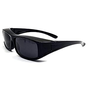 Überzieh-Sonnenbrille Unisex Polarisiert UV380 für Brillenträger Fit-Over Überbrille