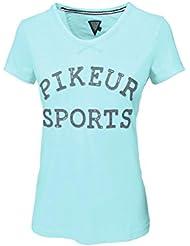 PIKEUR LEXI Rundhals-Shirt DOB, light turquoise, 34
