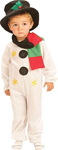 Kinder Weihnachten Party Fancy Dress Book Woche Tag Schneemann Clubwear Kostüm UK Gr. S, multi