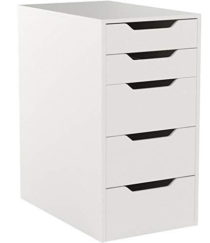 IKEA ALEX Schubladenelement in weiß; (36x70cm)