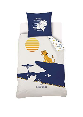 Disney Roi Lion Parure de lit Enfant 140x200 cm
