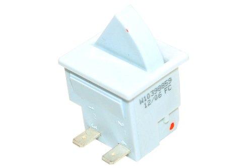 Whirlpool 481010398859 Kühlschrankzubehör/Admiral Amana Bauknecht Ikea Refrigeration Rocker Switch