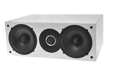 INDIANA LINE Diffusore Acustico Centrale TESI 742 a 2 Vie Potenza 100Watt colore Laccato Bianco in promozione su Polaris Audio Hi Fi