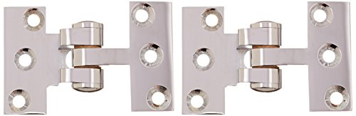 Deltana SBIH2510U26 Solid Brass Intermediate Hinge Use with Pivot Hinge for Large...