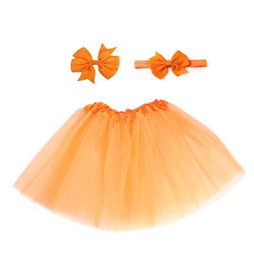 Amorar Baby Mädchen Säugling Fotografie Prop Kleidung Stütze Neugeborene Prinzessin Kostüm Outfits Tutu Rock Outfits Bow Stirnband Haarspange Set - Baby-mädchen Kostüme
