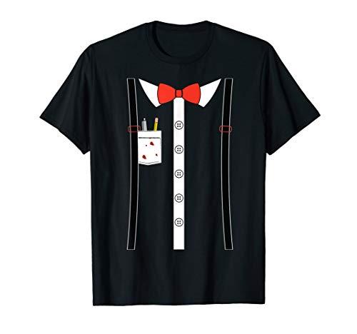 Nerd Kostüm-Shirt T-Shirt - Nerd Kostüm Shirt