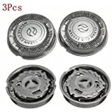 3Pcs Electric Shaver Razor Replacement Head Blade Network For Philips Norelco HQ40 HQ46 HQ48