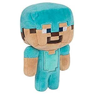 Minecraft 8731 Happy Explorer Diamond Steve Felpa