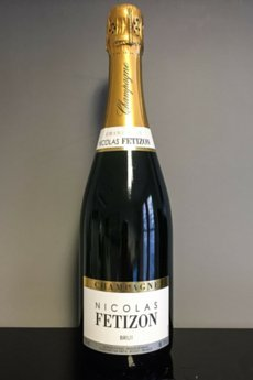 Brut Nicolas Fetizon, Champagne Brice (case Of 6). Champagne/francia. Chardonnay, Pinot Noir, Pinot Meunier. Champagne