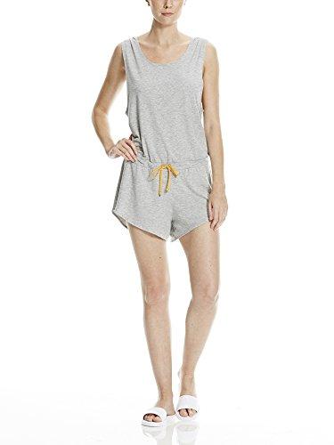 Bench Damen Jumpsuit Straight Playsuit Grau (Mid Grey Marl GY001X)