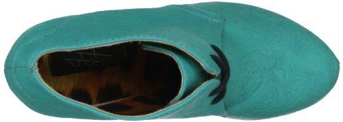 turquoise Fist turq Iron Damen Tigre Blau Stiefel Wedge 07wwq8dz