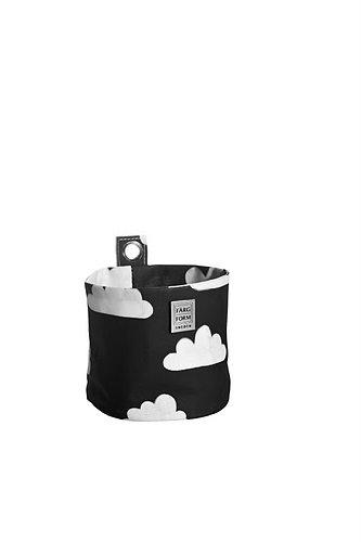 Farg Form Sac de rangement rond Motif nuages