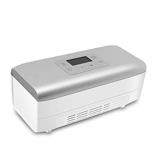 Yuany Tragbarer Medikamentenkühlschrank - Insulininkubator, Mini-Auto/Kleiner Kühlschrank für den Haushalt, mit Batterie zur Aufbewahrung von Interferon/Augentropfen 2-24 \u0026 deg; C