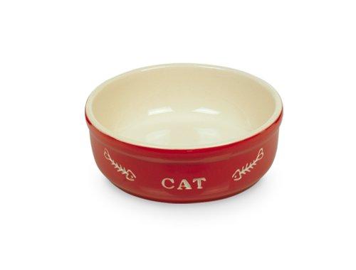 nobby-73350-katzen-keramik-schale-oe-135-cm-rot-beige