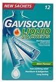 Gaviscon Liquid Mint 12 Sachets