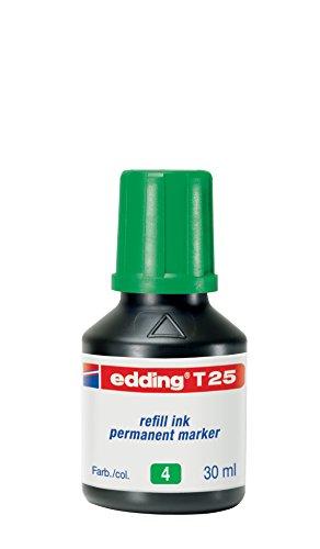 Preisvergleich Produktbild Edding 4-T25004 Nachfülltusche edding T 25, für edding Permanentmarker 30 ml, grün