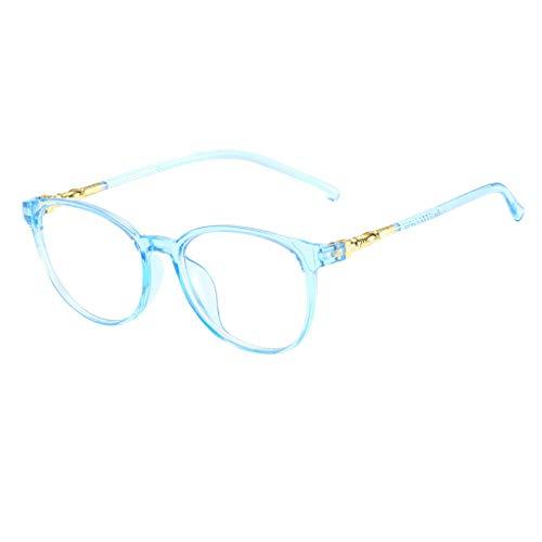 friendGG Unisex Stylish Square Brillen Ohne Korrekturbrillen Durchsichtige Mode Neutral Large Frame Sonnenbrille Integrierte Damenbrillen Herrenbrillen Frauen Retro Brille Sonnenbrillen,