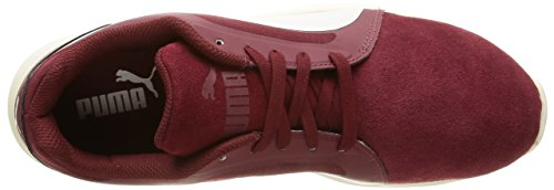 Puma St Trainer SD, Baskets Basses Mixte Adulte Rouge (Cabernet/WhisperBlanc)