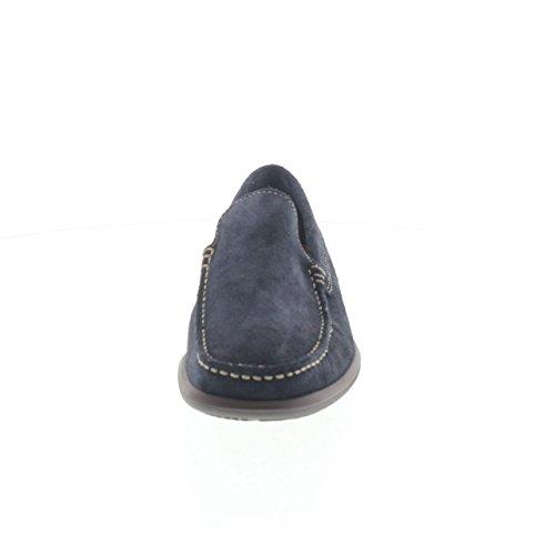 FRAU 14C4 FX chaussures bleues homme mocassins seule lumière supplémentaire Bleu