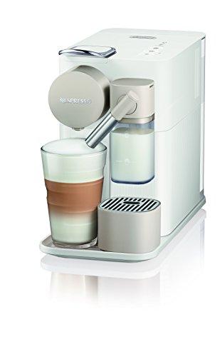DeLonghi - Lattissima One Cafetera de cápsulas con diferentes Cápsulas Nespresso, 1L, 1400W, 19bar, Blanco