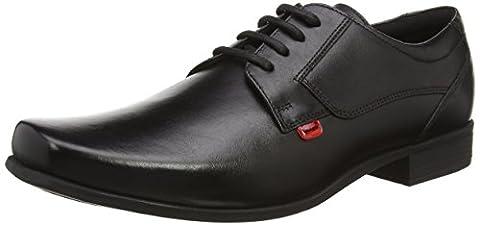 Kickers Vintner Lace Mto Lthr Am, Chaussures à Lacets Homme, Noir (Black), 45 EU