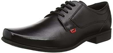 Kickers Men Vintner Lace Mto Lthr Am Oxfords, Black (Black), 6.5 UK (40 EU)