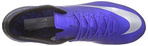 Nike Mercurial Vapor X Cr7 Fg, Chaussures de Football Homme Bleu (Deep Royal Blue/Metallic Silver/Racer Blue/Blue)