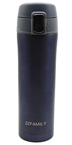 3zfamily Bouteille isotherme Home Kitchen thermoses acier inoxydable isolé Thermos Tasse de café Mug Travel Drink Bouteille Garrafa TERMICA thermomug Marteau à panne violett / blau