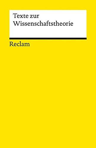 Texte zur Wissenschaftstheorie (Reclams Universal-Bibliothek)