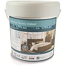 Pintura antihumedad y aislante termica para interior (4 litros) | Imperlux Termic Indoor