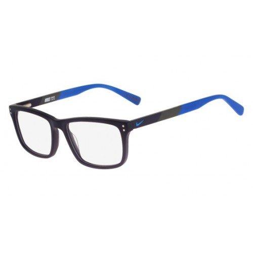 Preisvergleich Produktbild Nike - NIKE 7238,  Wayfarer,  Acetat,  Herrenbrillen,  MATTE MIDNIGHT BLUE(405 E),  52 / 16 / 140