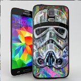 Star Wars Stormtrooper Pop Art Coque pour iPhone et Samsung Galaxy Samsung Galaxy S5 (Noir)
