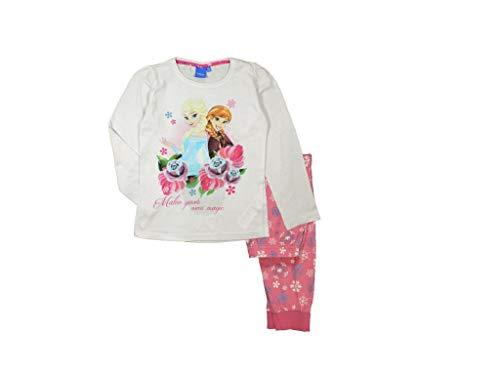 Frozen - Die Eiskönigin Schlafanzug ELSA (116, rosa)