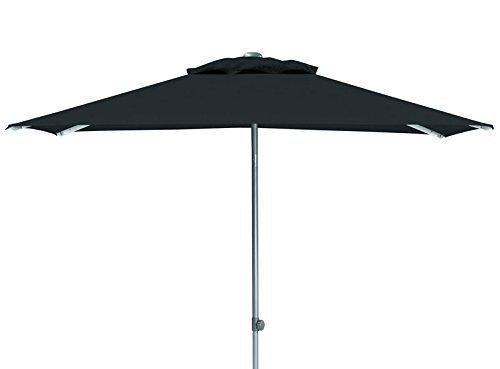 Kettler Easy Push Advantage Sonnenschirm 200 cm x 200 cm - wetterfester Gartenschirm - hochwertiges...