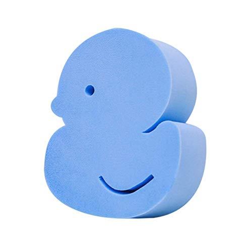 Bad Seidig-weiche Haut Glatter (Delisouls Baby Bade Schwamm, Süße Cartoon Form Peeling Massage Bad Schwamm, Schaum Rub Dusche Schwamm Weich Bürste Pinsel für Baby Kinder Erwachsene - 2PCS)