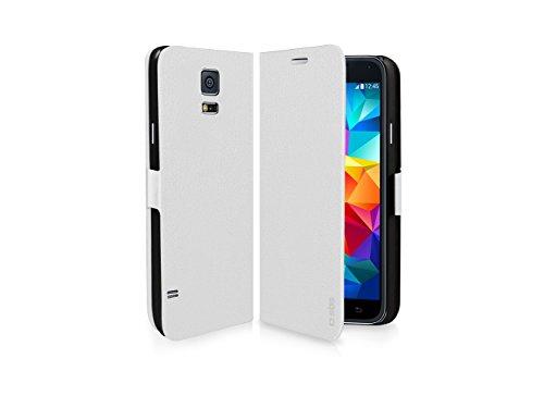 """'SBS tebooksas5minw 4.5""""Folio weiß Schutzhülle für Handy-Hülle für Mobiltelefone (Folio, Samsung, Galaxy S5Mini, 11,4cm (4.5), weiß)"""