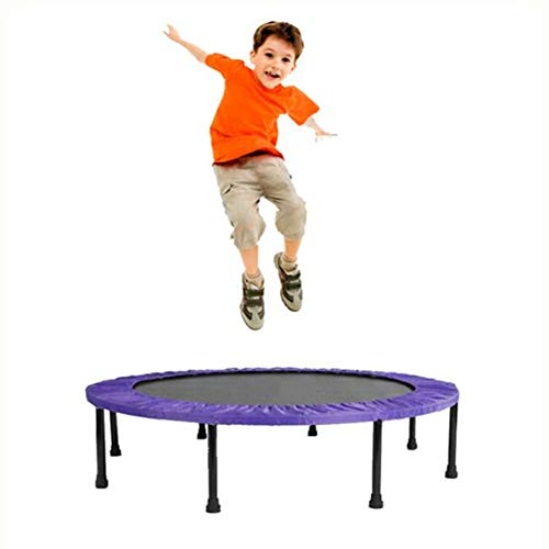"KY&CL Kindertrampolin, erwachsenes Trampoline/Kinderbetten/Hallenbad/Baby-Rebound bed/48 inches/Purple,48\"" Foldable"