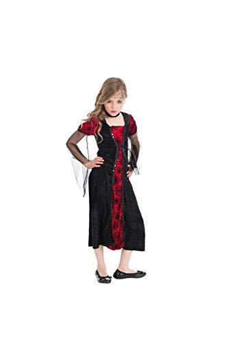 Kostüm Lady Vampire Kinder, 7 - 8