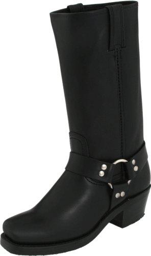 frye-harness-77300blk7-damen-stiefel-schwarz-38-eu-5-uk