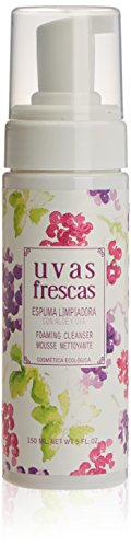 Uvas Frescas Reinigungsschaum mit Traubenextrakt, Traubenöl und Aloe Vera (Aloe-vera-extrakt)