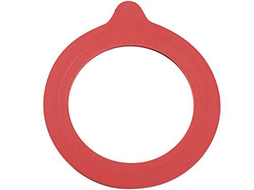 Leifheit Ersatzteile, Ersatzgummiringe für Drahtbügelgläser 1140 ml, 6er-Set, für Einmachgläser, passend für Leifheit Drahtbügelglas 1140 ml Art. Nr. 3193