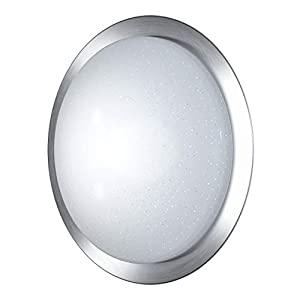 LEDVANCE LED Wand- und Deckenleuchte, Leuchte für Innenanwendungen, Dimmbar und Farbtemperaturwechsel per Fernbedienung, 420,0 mm x 105,0 mm, Orbis Tray Sparkle