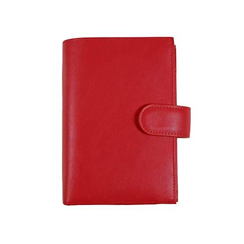YWHY Notizbuch A6 Spiral Pu Notebooks Schreibwaren Büro Schule Persönliche Agenda Organizer/Binder Tagebuch Wochenplaner Mit Große Tasche